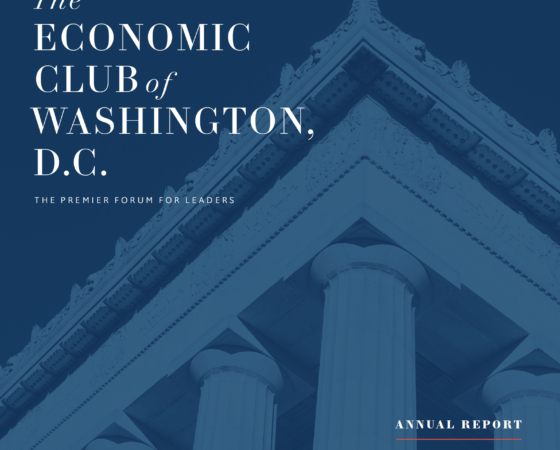 The Economic Club of Washington D.C.